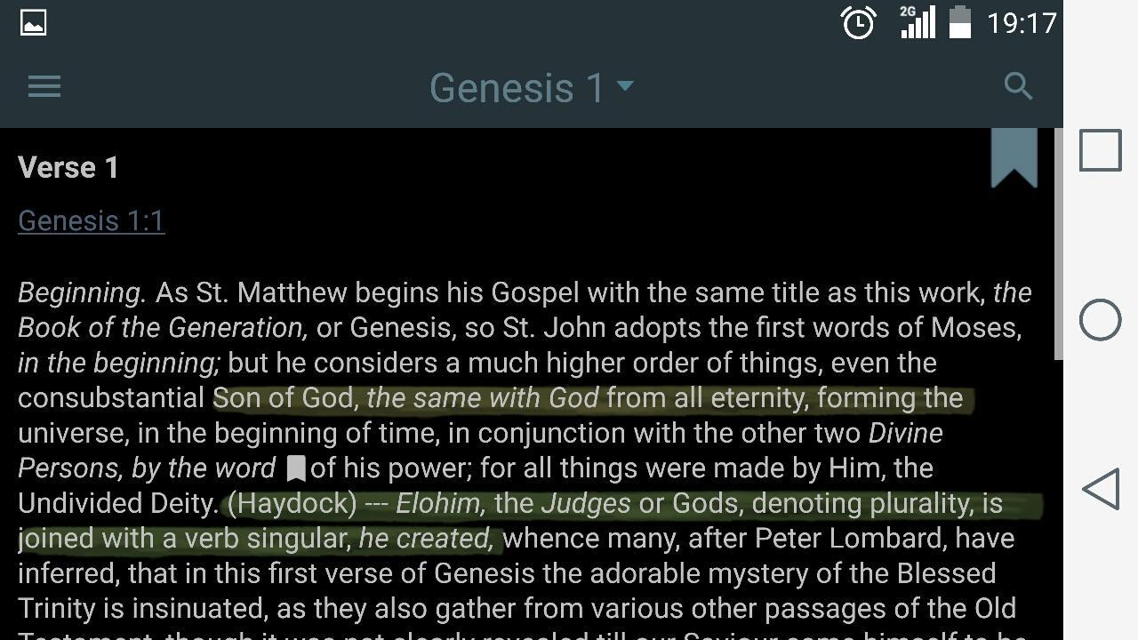 Catholic Bible Commentary for Android - APK Download