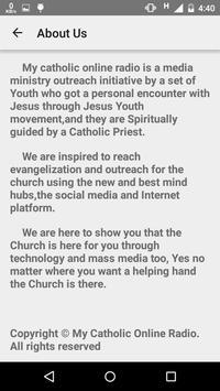 My Catholic Online Radio apk screenshot