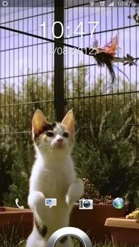 Super Cute Jumping Cat LWP apk screenshot