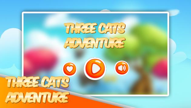 Three Cats Adventure poster