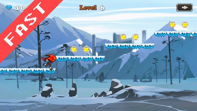Ninja Fireboy apk screenshot