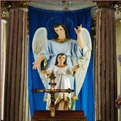 Novena San Rafael Arcángel icon