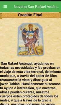 Novena San Rafael Arcángel screenshot 6