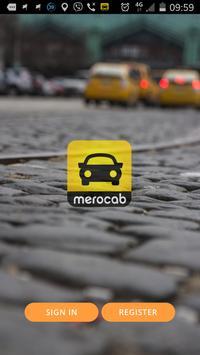 MeroCab Driver poster