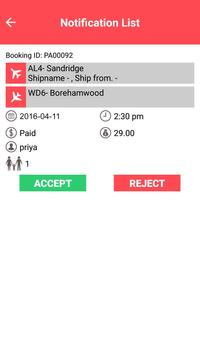 Taxi Driver Application screenshot 3