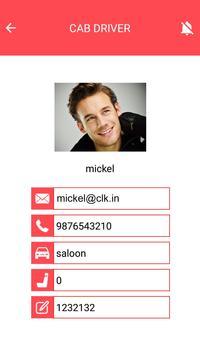 Taxi Driver Application screenshot 1