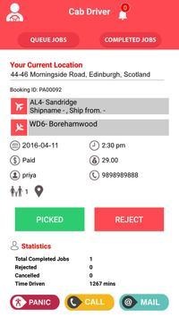 Taxi Driver Application screenshot 2