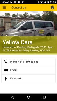 Yellow Cars Reading screenshot 4