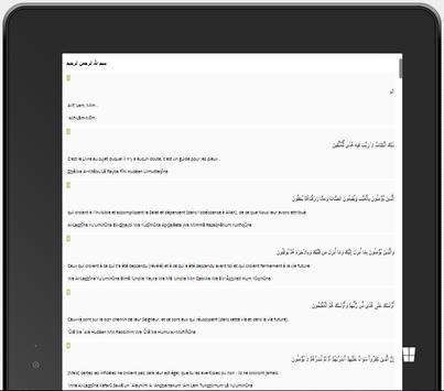 Coran Arabe | Français | Phon. apk screenshot