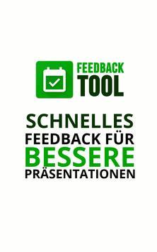 Feedback Tool - FeedbAPP | Bewerte Präsentationen poster
