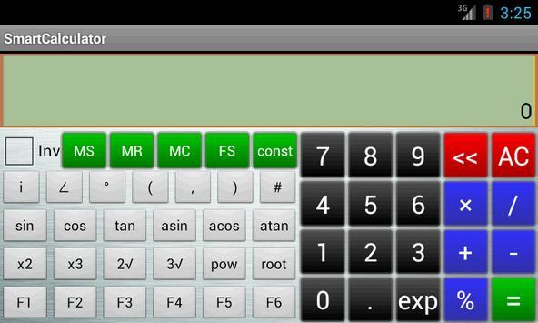 计算器 apk screenshot