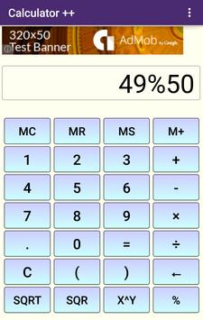 Calculator ++ apk screenshot