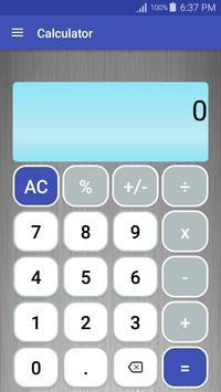 Poster Calculator