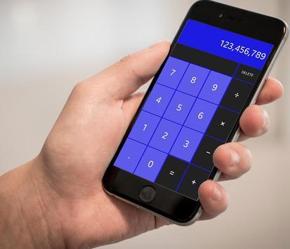 Calculator Super calcula calc scientific + / - = x screenshot 3