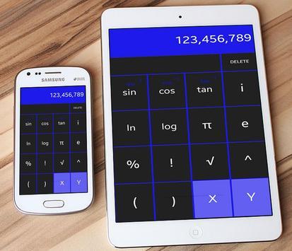Calculator Super calcula calc scientific + / - = x screenshot 1