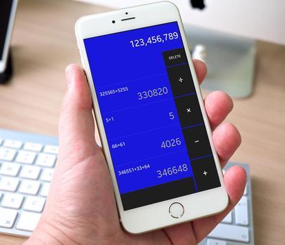 Calculator Super calcula calc scientific + / - = x screenshot 7