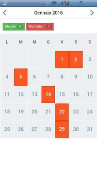 AgendaNote Calendario Appunti screenshot 4