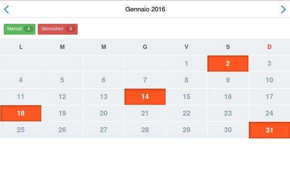AgendaNote Calendario Appunti screenshot 5