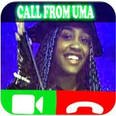 video call uma from descendants 2 icon