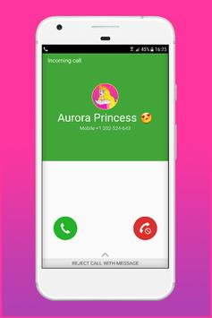 Call From Aurora Princess poster