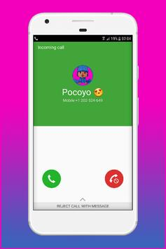 Call From Pocoyo - Prank poster