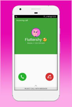 Fake Call From Fluttershy poster