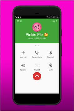 Call From Pinkie Pie poster