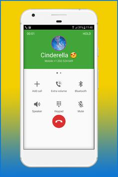 Call From Cinderela Princess screenshot 3