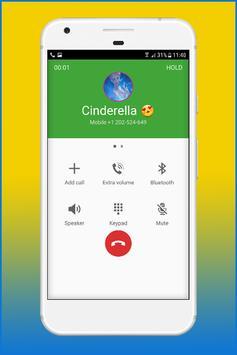 Call From Cinderela Princess screenshot 1