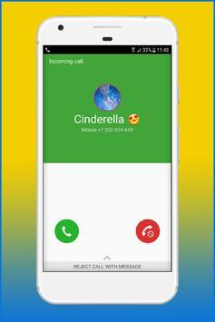 Call From Cinderela Princess screenshot 2
