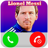 Call From Lionel Messi - Fake Call icon