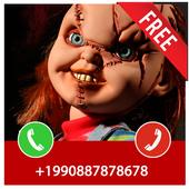 Fake Call From Chucky Killer Prank icon