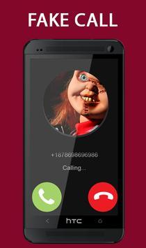 Fake Call From Chucky Killer Prank screenshot 3