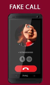 Fake Call From Chucky Killer Prank poster