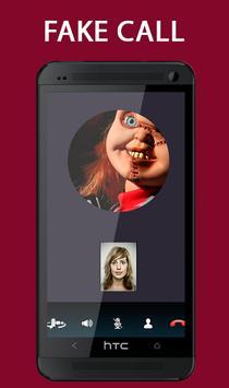 Fake Call From Chucky Killer Prank screenshot 2