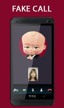Fake Call From Baby Boss Prank 2017 poster