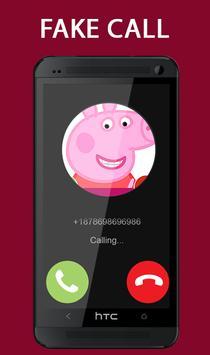 Fake Call From Pepa Pig Prank 2017 screenshot 4
