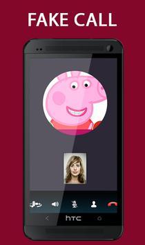 Fake Call From Pepa Pig Prank 2017 screenshot 1