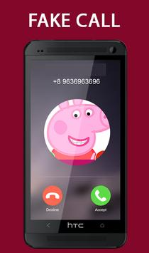 Fake Call From Pepa Pig Prank 2017 screenshot 2