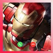 Iron Man Fake Call icon