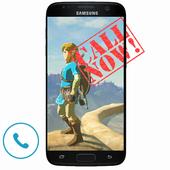 Zelda Fake Call icon