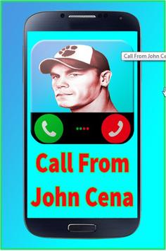 Call from John Cena poster