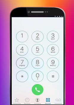 OS 11 theme call screenshot 2