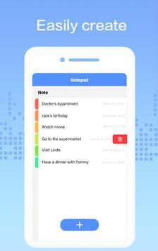 Note pad - write memo, keeplist, aftercall screenshot 1