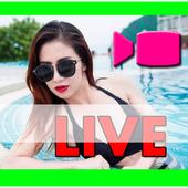 Call video beta live chat random show girl guide icon