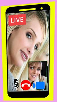 Call video beta live chat random show girl guide poster