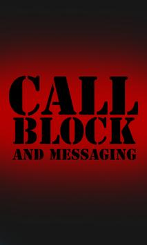 Call Block And Messaging poster