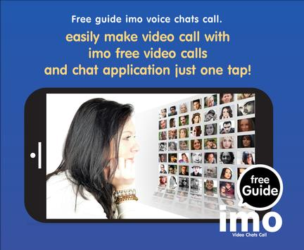 Free imo guide Video Chat Call screenshot 1