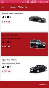 Chauffeurcaller Customer screenshot 2