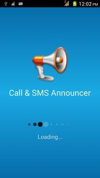 Caller Name & SMS Announcer poster
